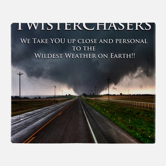 TwisterChasers Back Throw Blanket