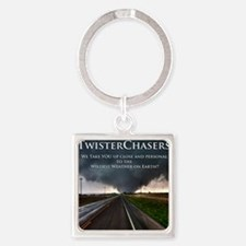 TwisterChasers Back Square Keychain