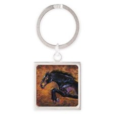 Shimmering Strength, Jumping Horse Keychains