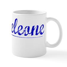 Monteleone, Blue, Aged Mug