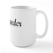 Commander, Vintage Mug
