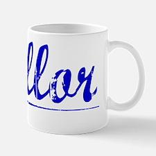 Mellor, Blue, Aged Mug