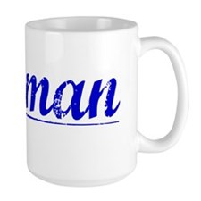 Morman, Blue, Aged Mug