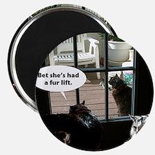Catty Birthday Magnet