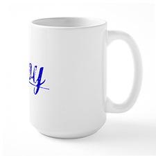 Moy, Blue, Aged Mug