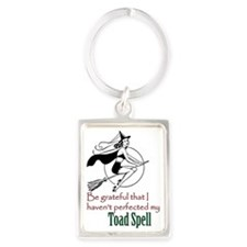 toad spell Portrait Keychain