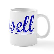 Munsell, Blue, Aged Mug