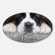 Baby Saint Oval Decal