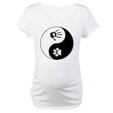 dog human yin yang Shirt