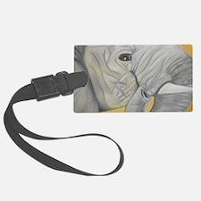 Elephant Pastel Piece Luggage Tag