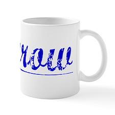 Morrow, Blue, Aged Mug