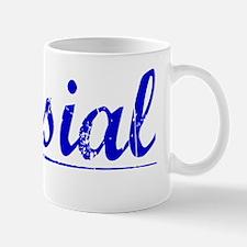 Musial, Blue, Aged Mug