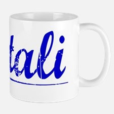 Natali, Blue, Aged Mug