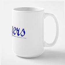 Moyers, Blue, Aged Mug