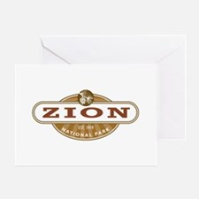 Zion National Park Greeting Cards