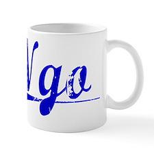 Ngo, Blue, Aged Mug