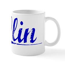 Olin, Blue, Aged Mug
