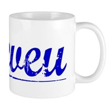 Neveu, Blue, Aged Mug
