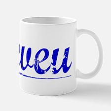 Neveu, Blue, Aged Mug
