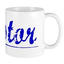 Nestor, Blue, Aged Mug