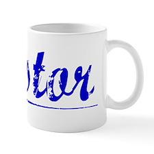 Nestor, Blue, Aged Small Mug