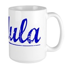 Padula, Blue, Aged Ceramic Mugs