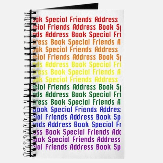 Special Friends Address Book Journal