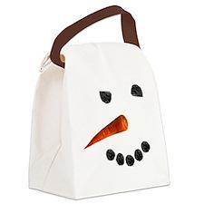 Snowman2 Canvas Lunch Bag