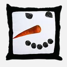 Snowman2 Throw Pillow