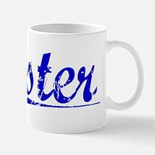 Oster, Blue, Aged Mug