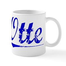 Otte, Blue, Aged Mug
