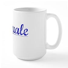 Pasquale, Blue, Aged Mug