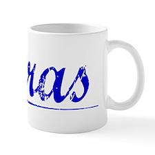 Perras, Blue, Aged Mug