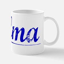 Palma, Blue, Aged Mug