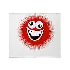 Normal is Boring Humor Throw Blanket