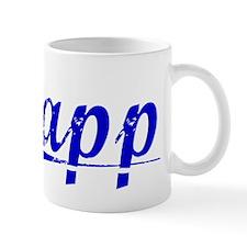 Papp, Blue, Aged Mug
