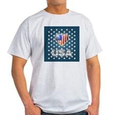 US flag design T-Shirt