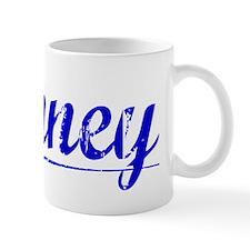 Penney, Blue, Aged Mug