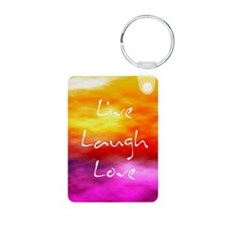 Live Laugh Love Journal Keychains