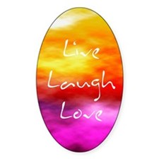 Live Laugh Love Journal Decal