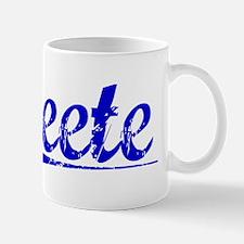 Peete, Blue, Aged Mug