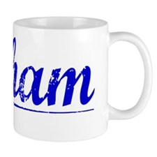 Pelham, Blue, Aged Mug