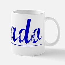 Prado, Blue, Aged Mug