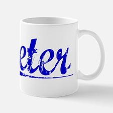 Peter, Blue, Aged Mug