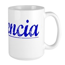 Placencia, Blue, Aged Mug