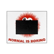 Normal is Boring Funny Picture Frame