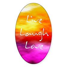 Live Laugh Love Address Book Decal