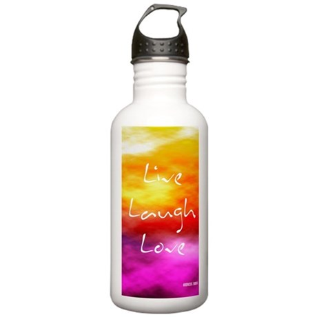 Live Laugh Love Addres Stainless Water Bottle 1.0L