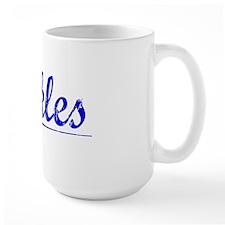 Pickles, Blue, Aged Mug