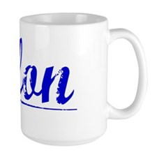 Pilon, Blue, Aged Mug